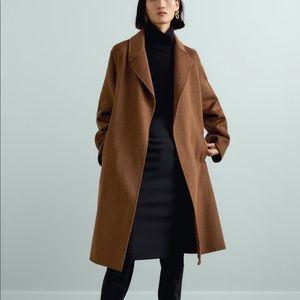 Zara Tie Waist Belted Coat